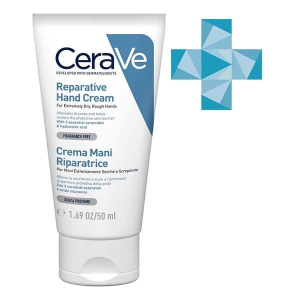 CERAVE Восстанавливающий крем для очень сухой кожи рук , 50 мл